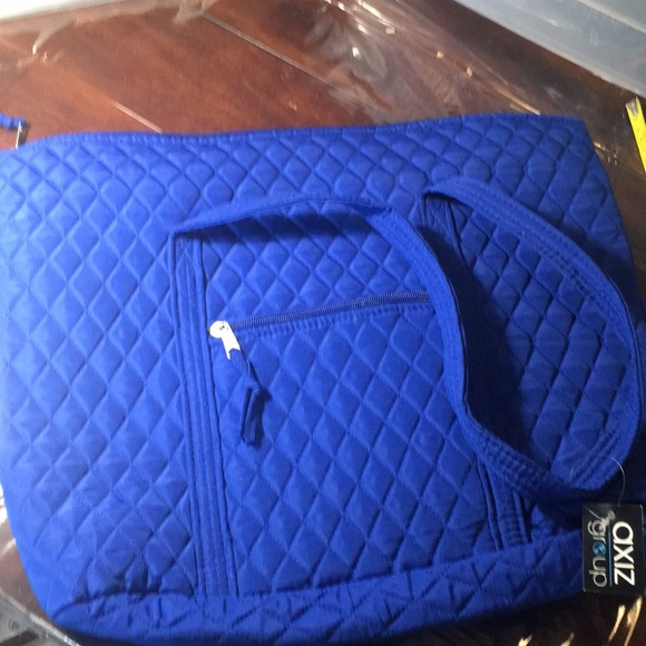 Handbags - Set of TWO Blue Travel Totes